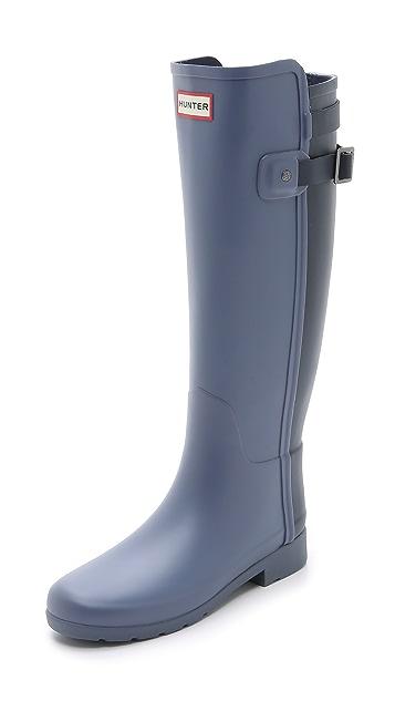 Hunter Boots Original Refined Back Strap Boots