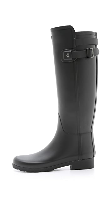 Hunter Boots Original Refined Back Strap Boots