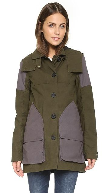 Hunter Boots Womens Original Wax Hunting Coat