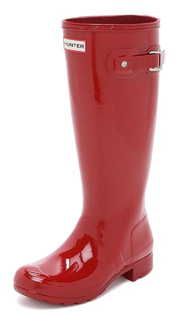 Hunter Boots Original Tour Gloss Boots