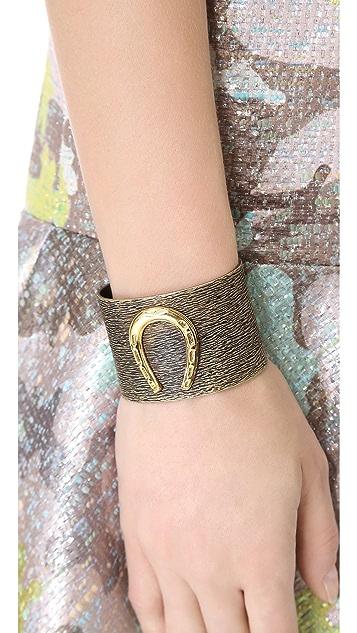 IaM by Ileana Makri Horseshoe Bracelet