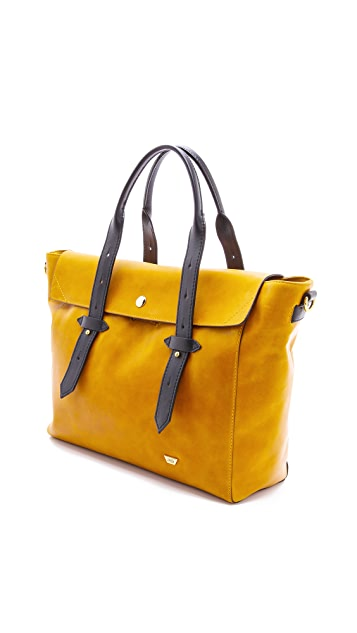 IIIBeCa by Joy Gryson Leather Satchel