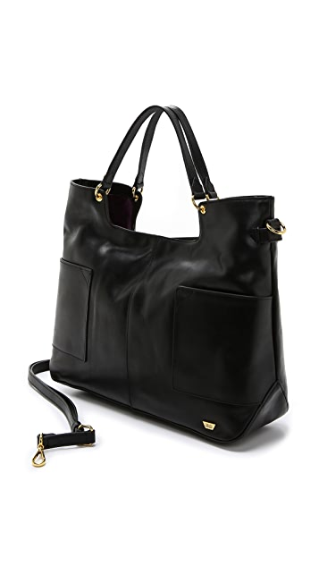 IIIBeCa by Joy Gryson Leather Shopper