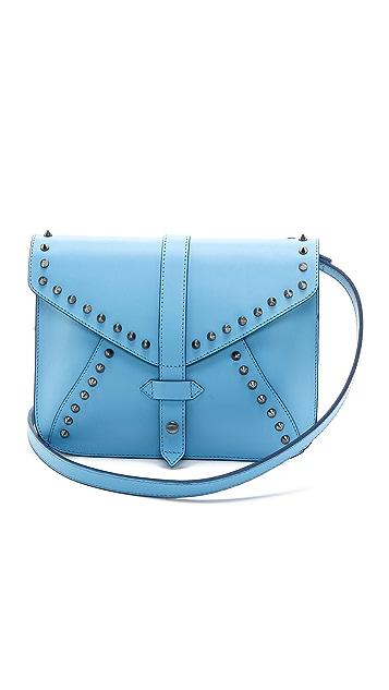 IIIBeCa by Joy Gryson Studded Church Street Envelope Bag