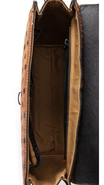 IIIBeCa by Joy Gryson Murray Street Haircalf Cross Body Bag