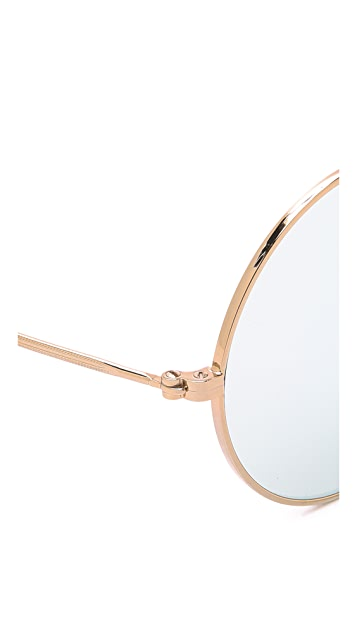 Illesteva Porto Cervo Mirrored Sunglasses