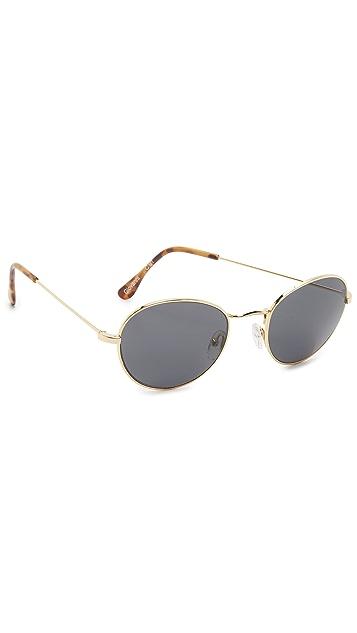 Illesteva Giovanni Round Sunglasses