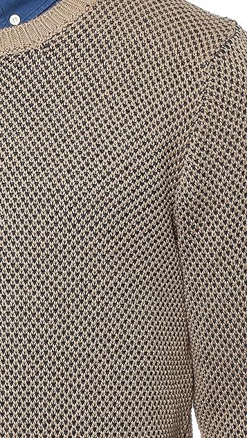 Inis Meain Birdseye Sweater