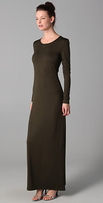 Imitation Rose Long Dress
