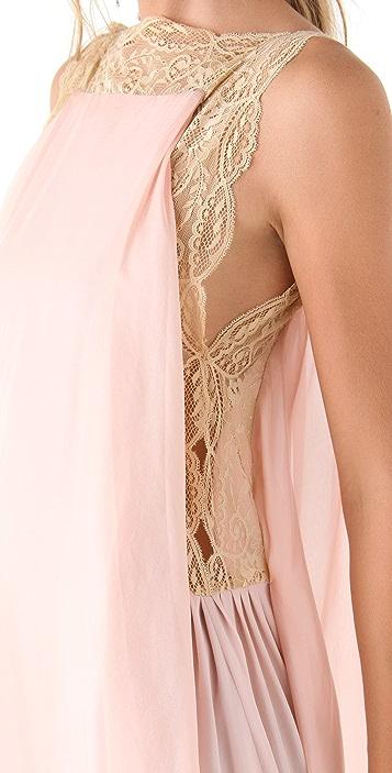 Imitation Theda Applique Midi Dress