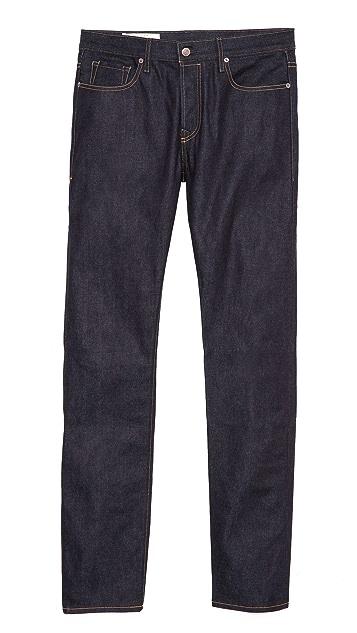 Imogene + Willie Barton Rigid Slim Straight Jeans