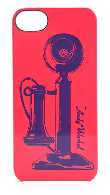 Incase Andy Warhol Telephone iPhone 5 Case