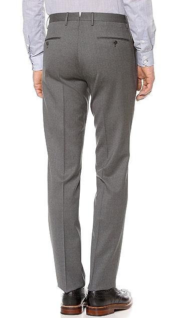 Incotex Basic Slim Fit Dress Trousers
