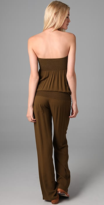 Indah Avril Strapless Jumpsuit