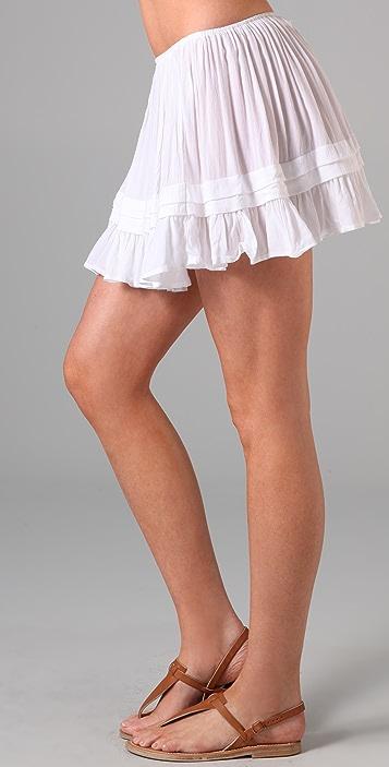 Indah Maggie Fold & Frill Miniskirt