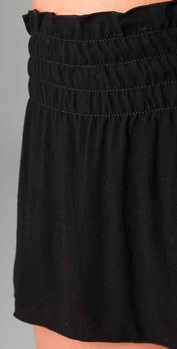 Indah Smocked Shorts
