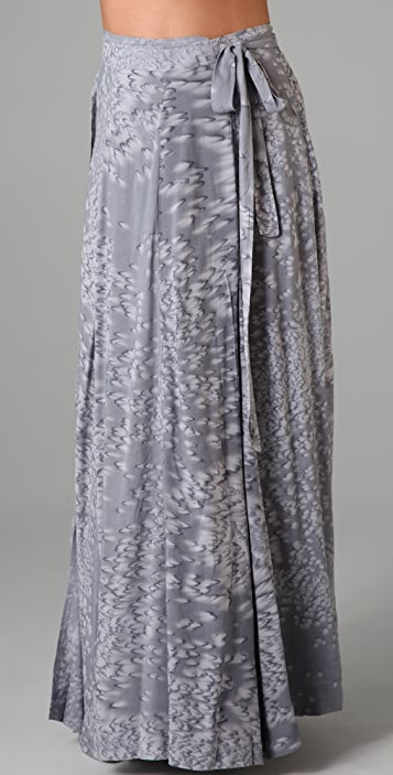 Indah Long Wrap Skirt
