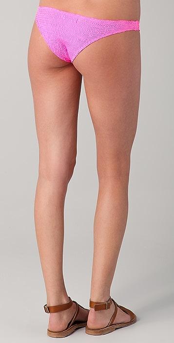 Indah Thai Ruched Bikini Bottoms