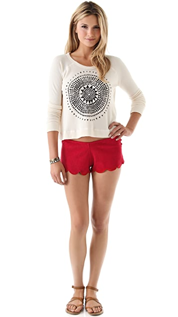 Indah Scallop Beach Shorts