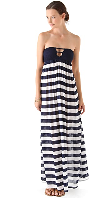 Indah Maxi Dress with Smocked Bandeau