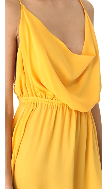 Indah Tahani Cowl Dress