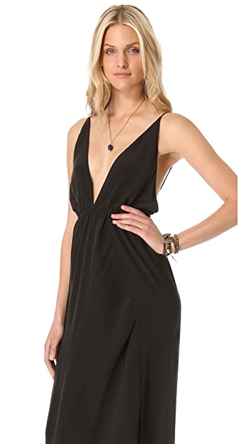 Indah River Split Maxi Dress