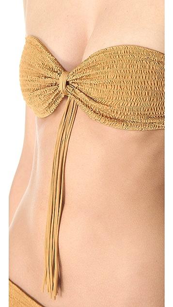 Indah Ghita Bandeau Bikini Top