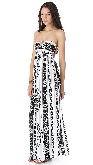 b0ec81f3be3 Indah Flamingo Maxi Dress ...