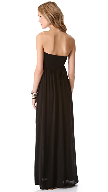Indah Zanzi Strapless Maxi Dress