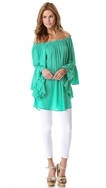 Indah Kamani Butterfly Wing Tunic