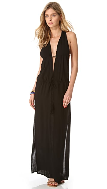 Indah Nyx Open Back Maxi Dress