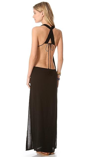 Indah Nyx Open Back Maxi Dress