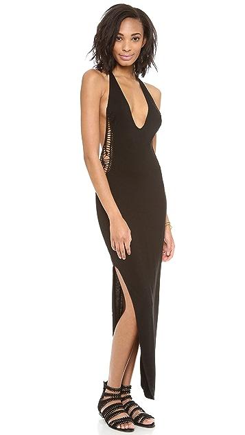 Indah Cut Away Maxi Dress