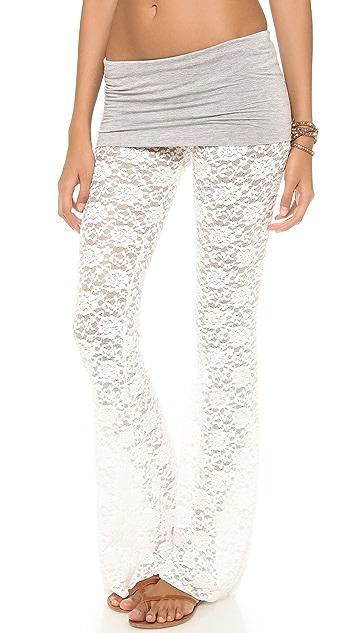Indah Lace Flare Pants