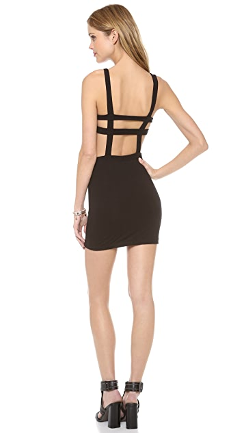 Indah Cage Bra Mini Dress