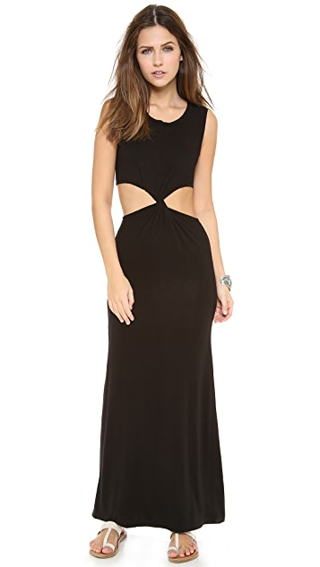 Indah Zombie Twist Cutout Maxi Dress