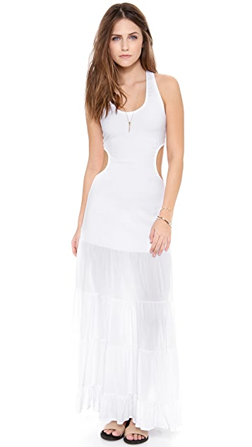 Indah Flamenco Cutaway Tank Dress