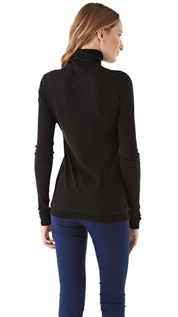 Inhabit Cotton Sport Turtleneck