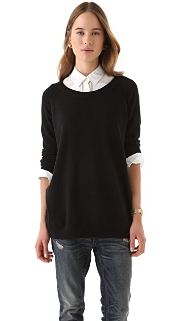 Inhabit Cashmere Sweater with Scoop Neck