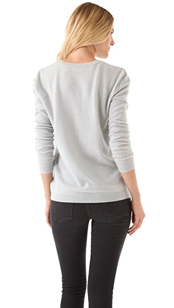 Inhabit V-Neck Cashmere Sweater