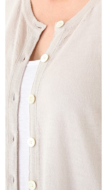 Inhabit Crew Neck Wool Cardigan