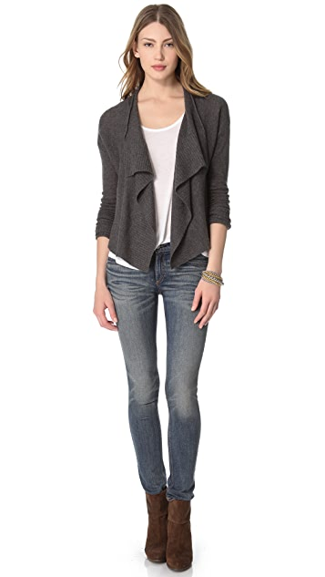 Inhabit Drape Cashmere Cardigan