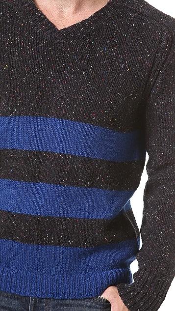 Inhabit Donegal V Neck Sweater