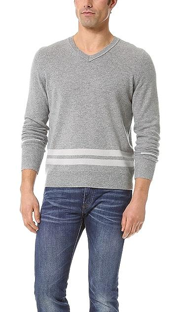 Inhabit Cashmere V Neck Sweater