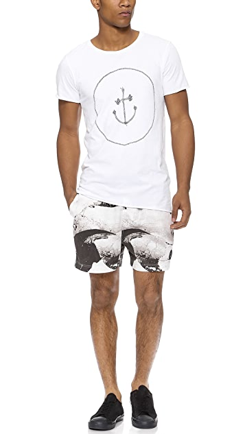 Insted We Smile Killa Whale Shorts