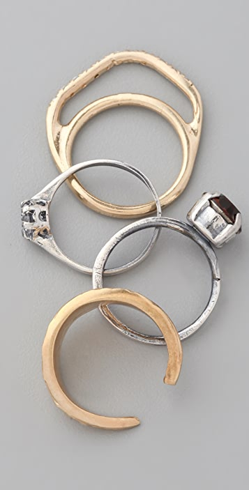 Iosselliani Stacking Ring Set