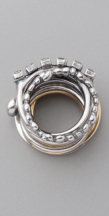 Iosselliani Stackable Rings