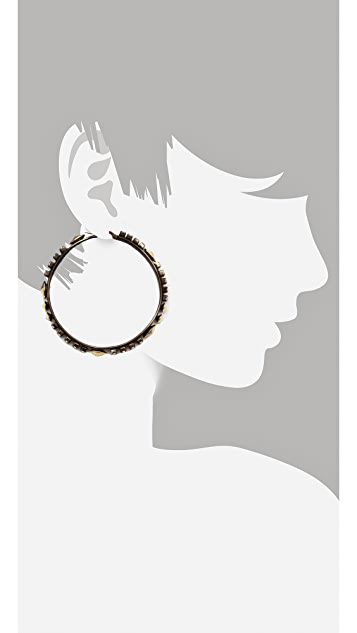 Iosselliani Hoop Earrings