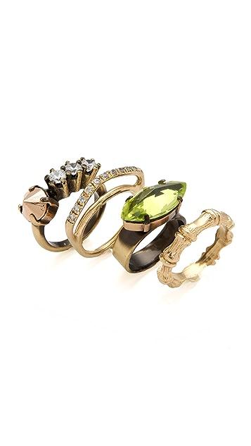Iosselliani Set of 4 Stacking Rings