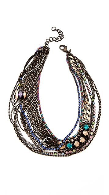 Iosselliani Multiwires Necklace